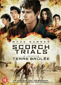 Inlay van Maze Runner: The Scorch Trials