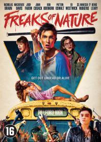 Inlay van Freaks Of Nature