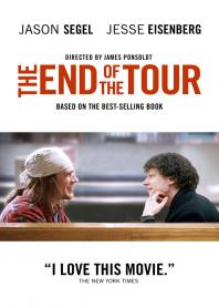 Inlay van The End Of The Tour