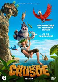 Inlay van Robinson Crusoe