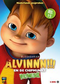 Inlay van Alvinnn!!! En De Chipmunks - Box 1 Deel 1 - 3