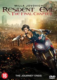 Inlay van Resident Evil: The Final Chapter