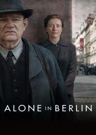 Inlay van Alone In Berlin