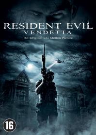 Inlay van Resident Evil: Vendetta