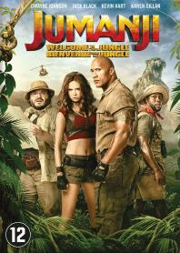 Inlay van Jumanji: Welcome To The Jungle