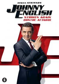 Inlay van Johnny English Strikes Again