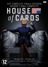 Inlay van House Of Cards, Seizoen 6