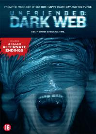 Inlay van Unfriended: Dark Web