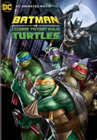 Inlay van Batman Vs Teenage Mutant Ninja Turtles