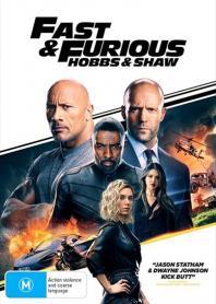 Inlay van Fast & Furious: Hobbs & Shaw