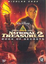 Inlay van National Treasure 2: Book Of Secrets