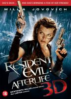 Inlay van Resident Evil: Afterlife 3d