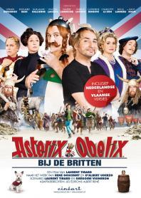Inlay van Asterix En Obelix Bij De Britten