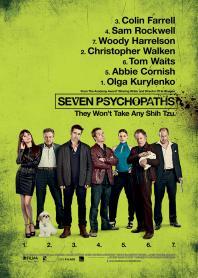 Inlay van Seven Psychopaths