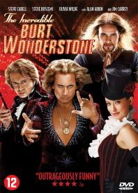 Inlay van The Incredible Burt Wonderstone