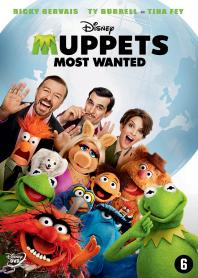 Inlay van Muppets Most Wanted