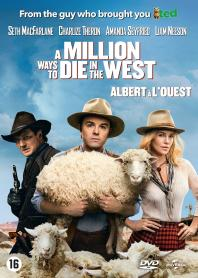 Inlay van A Million Ways To Die In The West