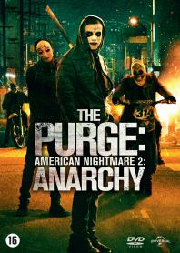 Inlay van The Purge: Anarchy