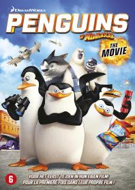 Inlay van Penguins Of Madagascar