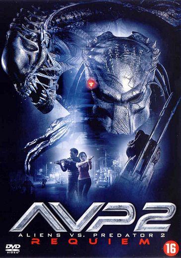 Inlay van alien vs predator 2 requiem