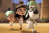 Screenshot van Mr. Peabody & Sherman
