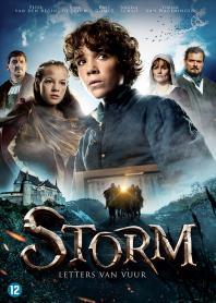 Inlay van Storm: Letters Van Vuur