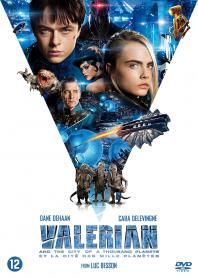 Inlay van Valerian And The City Of A Thousand Planets