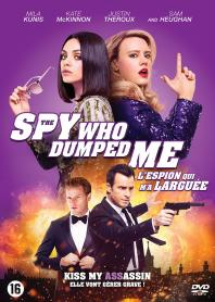Inlay van The Spy Who Dumped Me