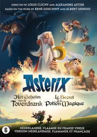 Inlay van Asterix And The Magic Potion
