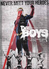 Inlay van The Boys, Seizoen 1