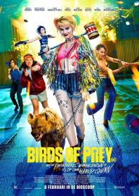 Inlay van Birds Of Prey: And The Fantabulous Emancipation Of One Hayley Quinn