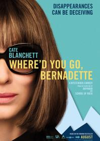 Inlay van Where'd You Go, Bernadette
