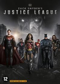 Inlay van Zack Snyder's Justice League
