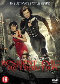 Inlay van Resident Evil: Retribution