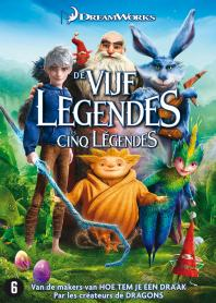 Inlay van Rise Of The Guardians