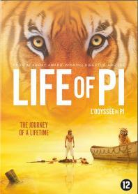 Inlay van Life Of Pi
