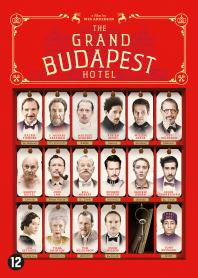 Inlay van The Grand Budapest Hotel